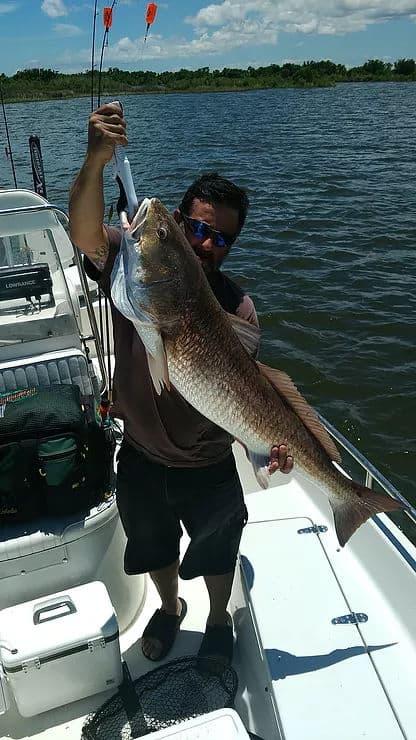 ocean fishing redfish